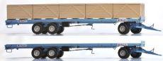 2102 Maupu Plattenwagen + 10 Boxen