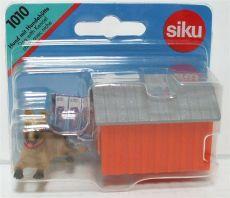 1010 Hund mit Hundehütte  Siku 1:32