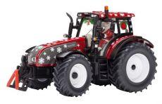 3268 Valtra T 191 rot mit Weihnachtsmann Santa Clause