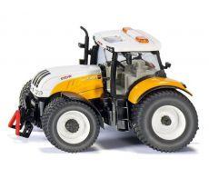 3286 Steyr CVT 6240 in kommunal orange    Traktor Siku