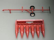 Rep131 Maisgebiß + Anhänger für IH 1460 Mähdrescher
