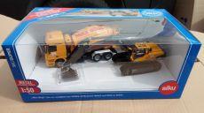 7510 LKW Betonmischer + Volvo Bagger Max Bögle im Set