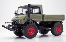 1066 Unimog 406 (U84) Soft-Top Fahrerhaus (1971 - 1989)  in LKW grau