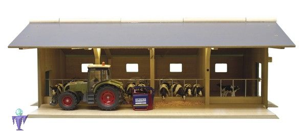 610635 offener stall schuppen f r tiere treckerwelt. Black Bedroom Furniture Sets. Home Design Ideas