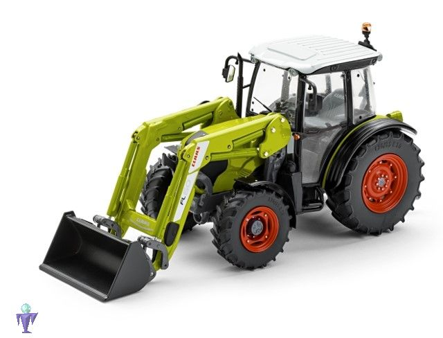 Marge model claas elios mit frontlader