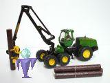 4059 John Deere 1470E 6W  Harvester Forstmaschine