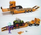 3295 Scania  mit Tieflader  in mechan. Ausführung