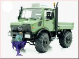 7611 Unimog 1600 in grün mit Ackerreifen