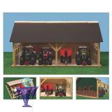 610223 Schuppen - Garage mit 2x 2 Standplätze in 1:32