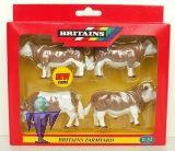 42351 Simmental Rinder  3x Kühe & 1x Bulle