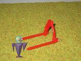 Beco 014 Ballengabel in rot