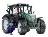 77326 Valtra N143 MT3  in grün  Sima 2013  Traktor