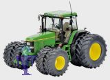 7721 John Deere 7810 mit Zwillingsreifen  Traktor