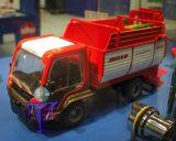 3061 Lindner Unitrac VS 17 mit Ladewagen