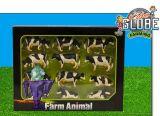 571929 Seit 12x Kühe in schwarz weiß