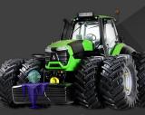 7769 Deutz-Fahr Agrotron TTV 9340 mit Zwillingsreifen