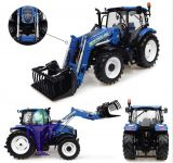 4956 New Holland T6.145 mit 740TL Frontlader