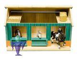 610002 Pferdestall mit 2 Einzelboxen in 1:24 für Schleich