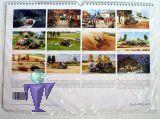 1114 Claas Modellkalender 2014 mit 12 Bildern