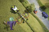 77828 Claas Liner 2900 2 Kreisel Schwader   Claas Edition