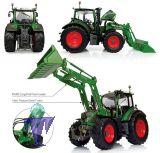 4981 Fendt 516 mit 4X / 80 ProfiCargo Frontlader Nature Green