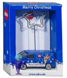 1338 VW T5 mit Weihnachtsdruck als Memo- Zettelhalter