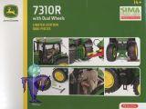 77800 John Deere 7310 R mit Zwillingsreifen hinten  Sima Edition
