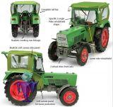 5291 Fendt Farmer 5S 2WD  mit Peko Kabine