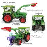 5310 Fendt Farmer 5S 4WD mit Peko Kabine und BAAS Frontlader