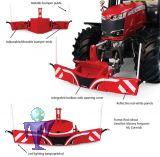 6250 Bumper Frontgewichte , Unterfahrschutz in rot mit 800 kg