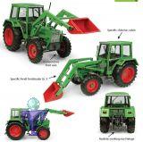 5251 Fendt Farmer 108LS  4WD mit Edscha Kabine und Frontlader