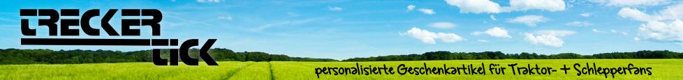 Hersteller von personalisierten Geschenkartikeln mit Traktormotiven
